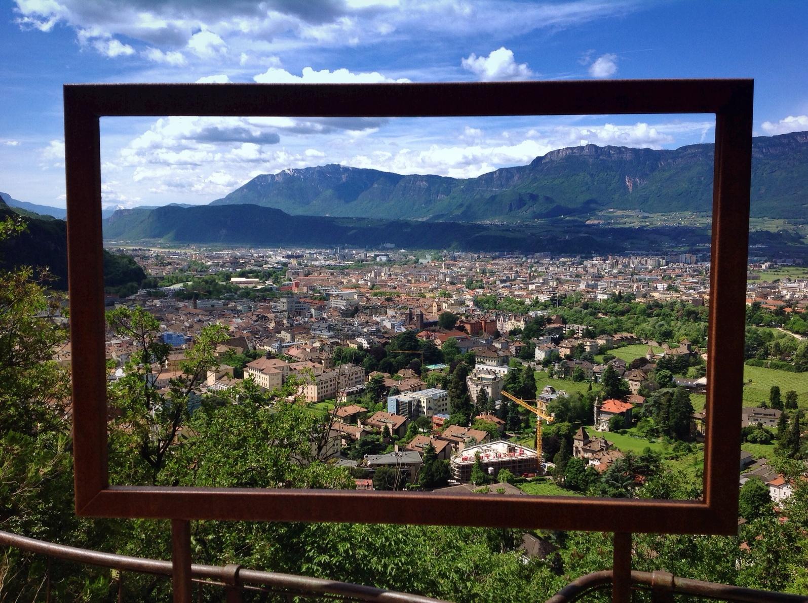 landscape with frame
