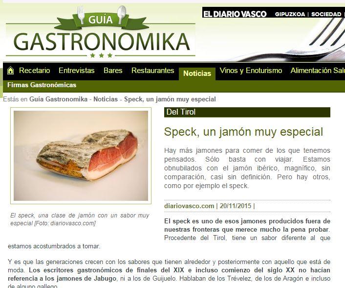Gastronomika Spagna