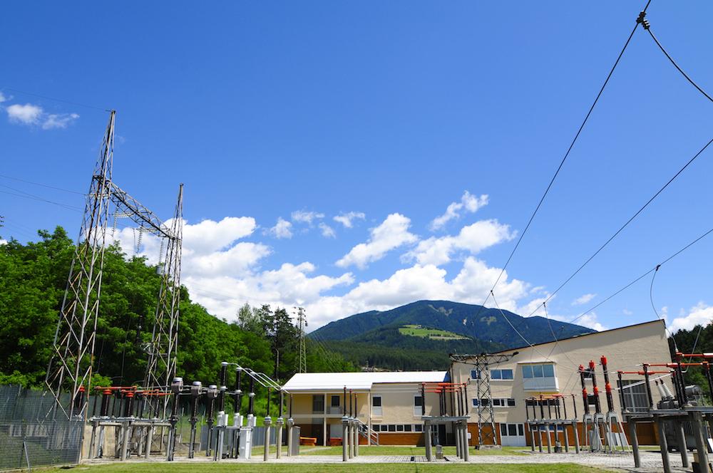 Centrale elettrica di Sel in Alto Adige