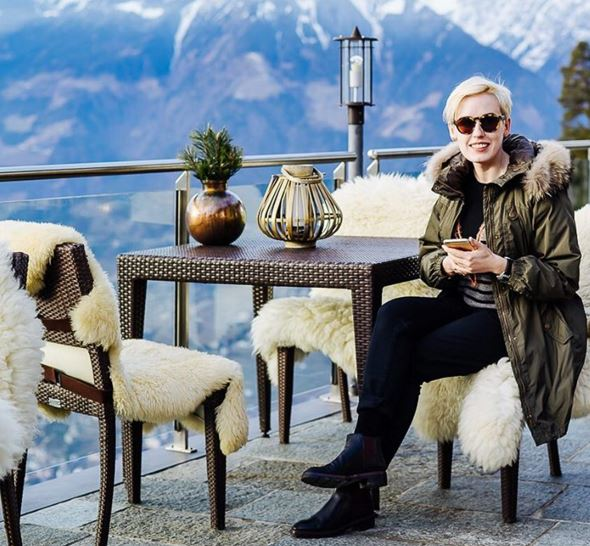 La blogger Daria Sirotina