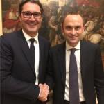 Arno Kompatscher e Enrico Costa