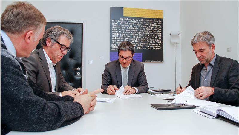 Firma dell'accordo fra provincia e comuni