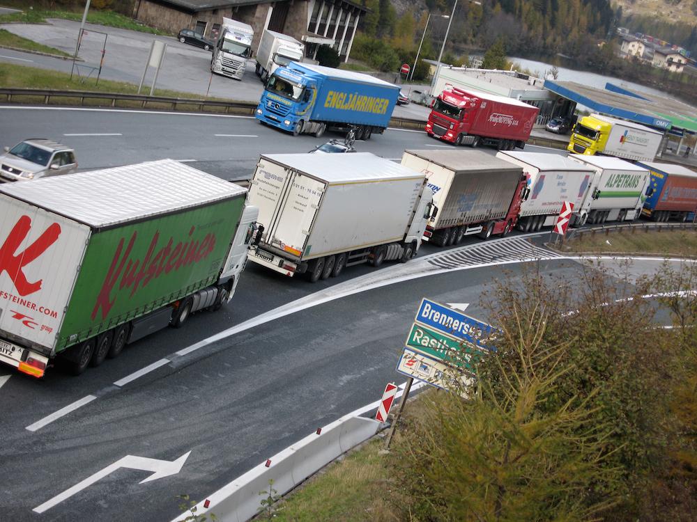 Camion al Brennero