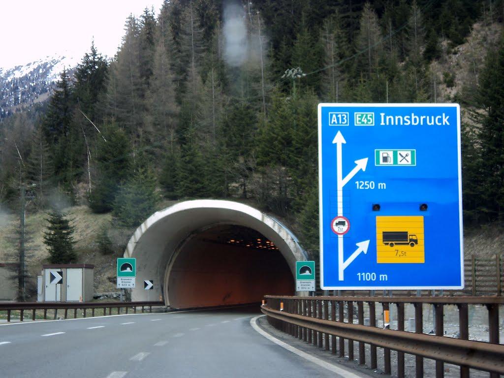 brennero tunnel