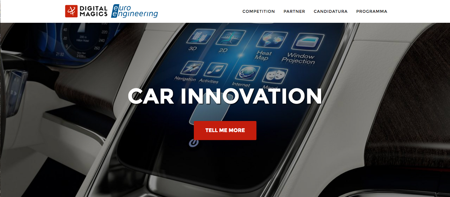 car innovation la call for ideas per startup dell 39 automotive. Black Bedroom Furniture Sets. Home Design Ideas