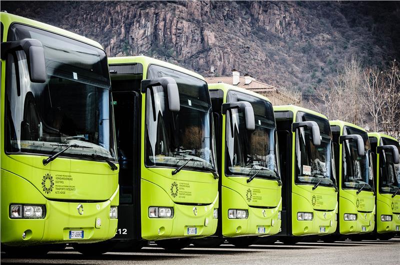 trasporto pubblico Alto Adige