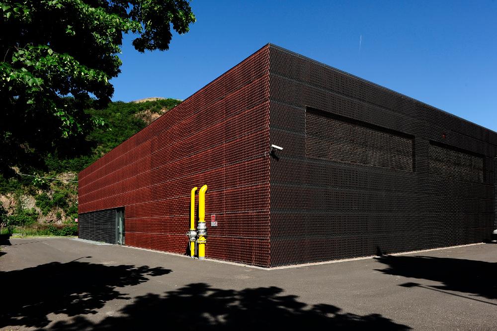 Centrale di teleriscaldamento Bolzano