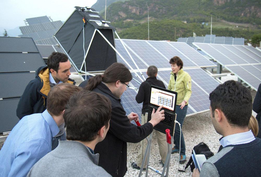 Impianto fotovoltaico aeroporto di Bolzano