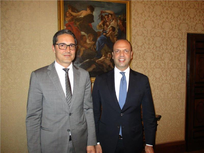 Arno Kompatscher e Angelino Alfano