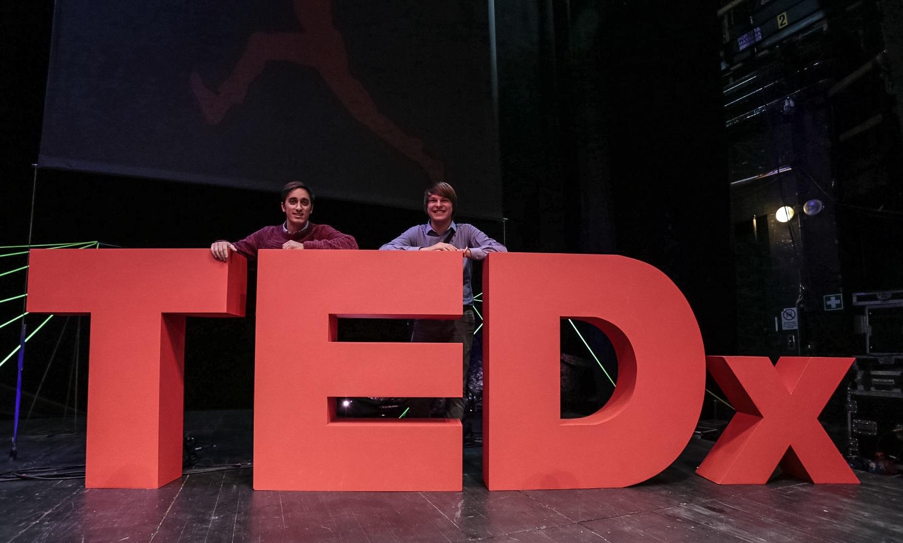 TedxBozen Team Gian Paolo Guacci and Jacopo Gallucci