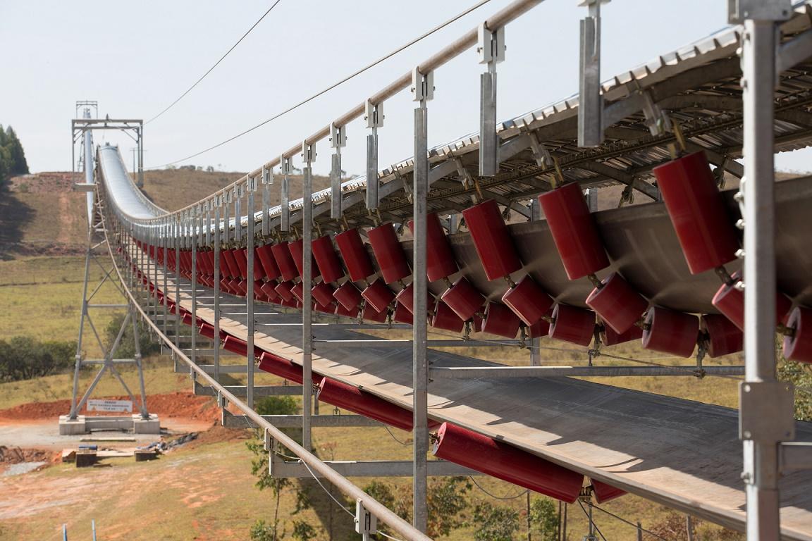 Brasile il nastro trasportatore su funi pi lungo al for Opzioni di materiale di raccordo