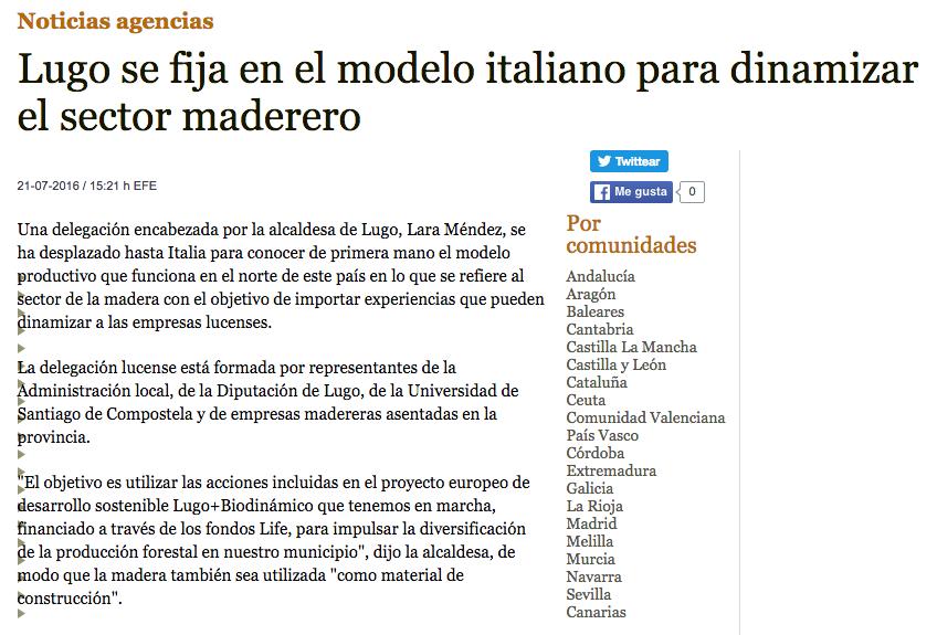 rassegna stampa estera spagnoli Alto Adige