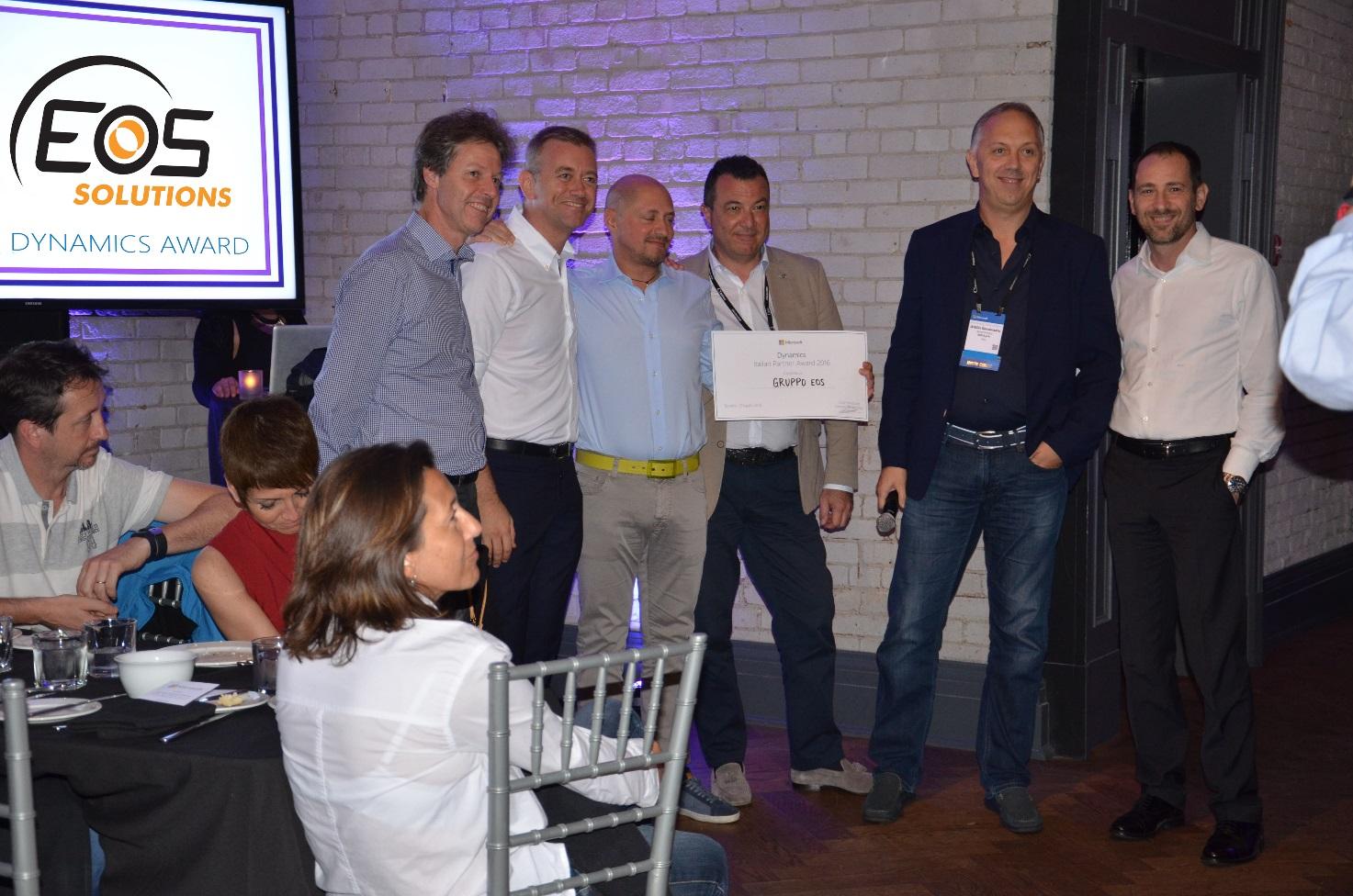 Premiazione Eos Solutions