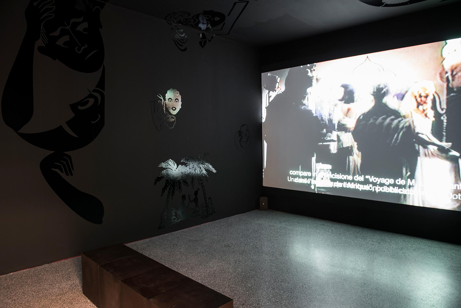 Le opere Malù – lo stereotipo della Venere Nera in Italia, 2015 e Tabù, 2016 degli Invernomuto, che entreranno in collezione Museion