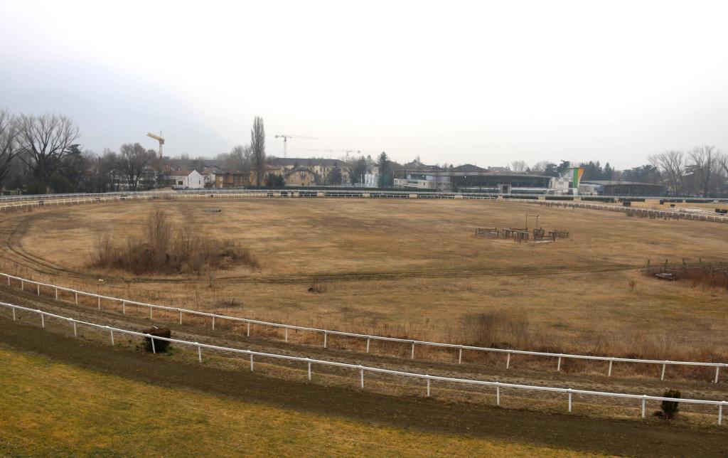 Der ehemalige Polo-Platz