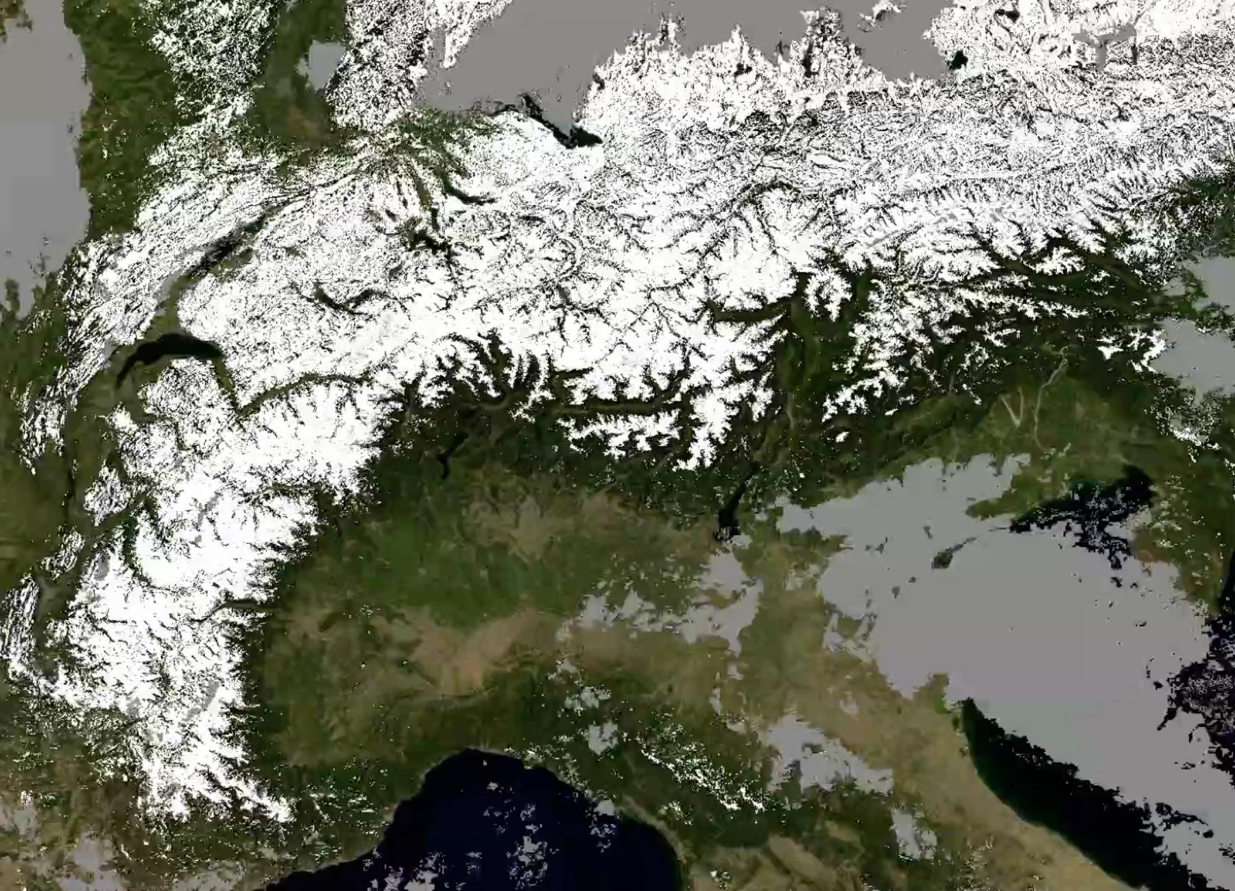 Copertura nevosa Alpi_2
