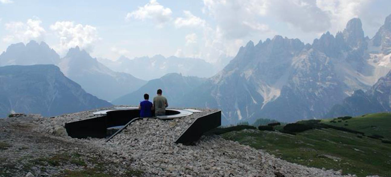 Dolomiti Unesco, nuova terrazza panoramica in val Gardena