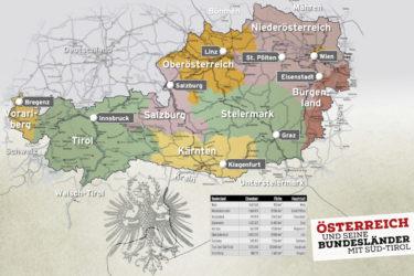 Cartina Del Austria.Alto Adige Austriaco Nel Diario Scolastico La Polemica Diventa Europea