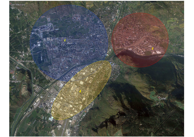 Logistica zone della città bis