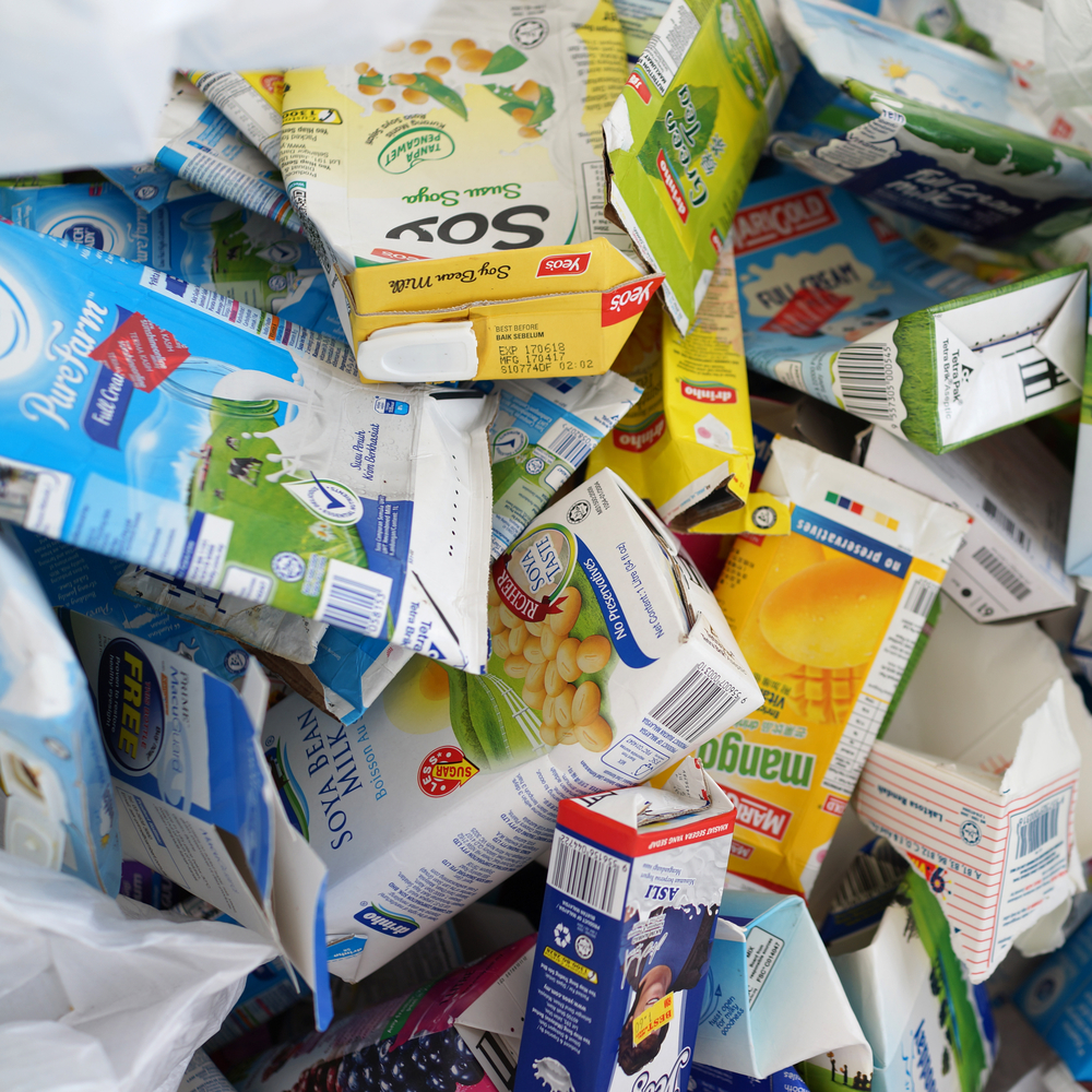 Tetrapack Mülltrennung