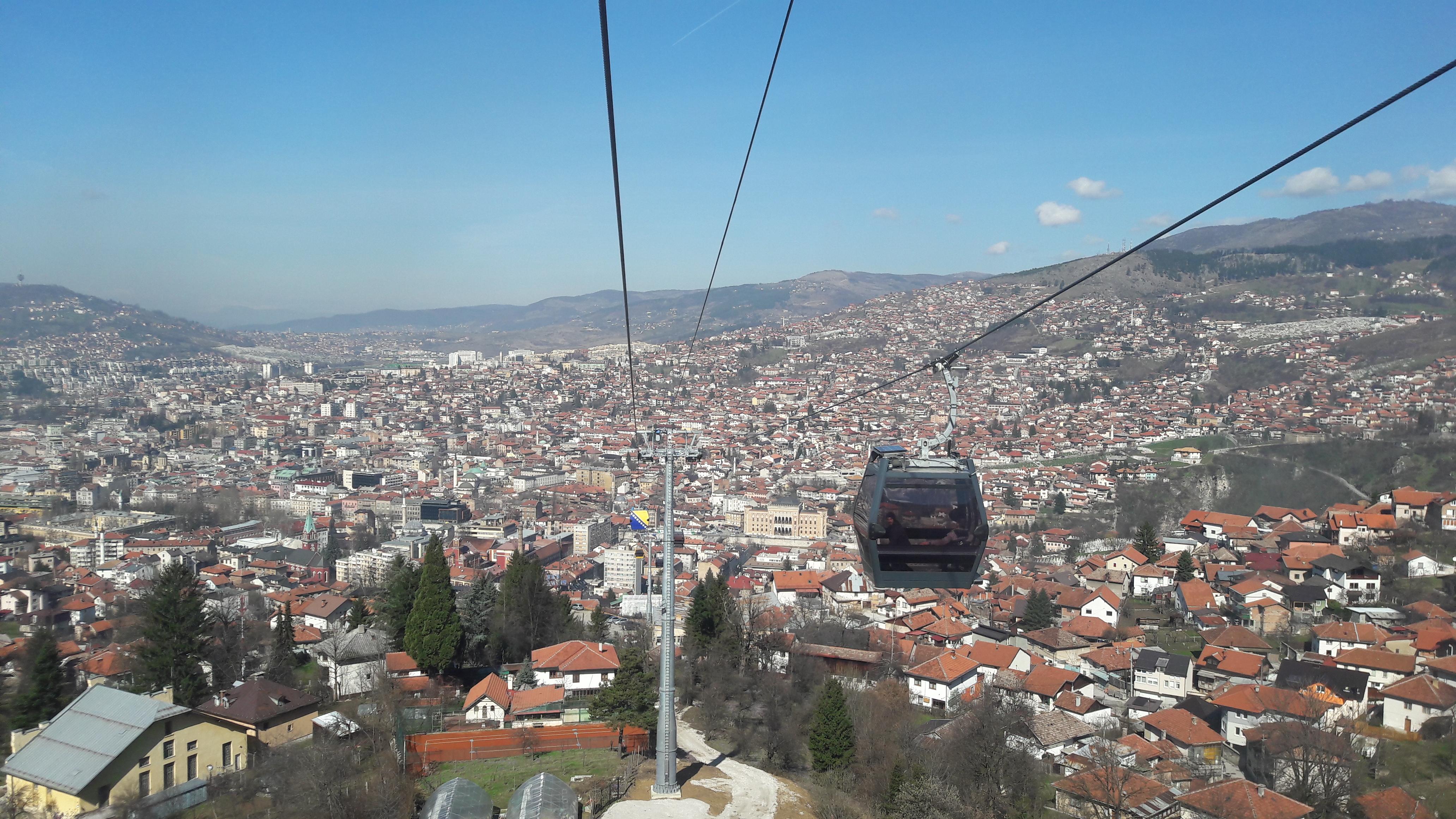 Cabinovia Trebevic Sarajevo-1