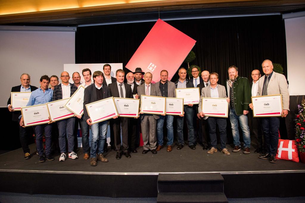 Foto - I funzionari premiati