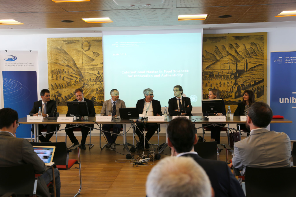 Pressekonferenz_Conferenza stampa_Food Sciences for Innovation and Authenticity