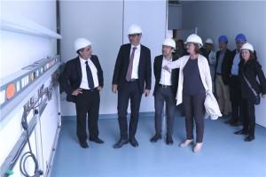 Da sinistra Cramarossa, Kompatscher, Tommasini e Stocker