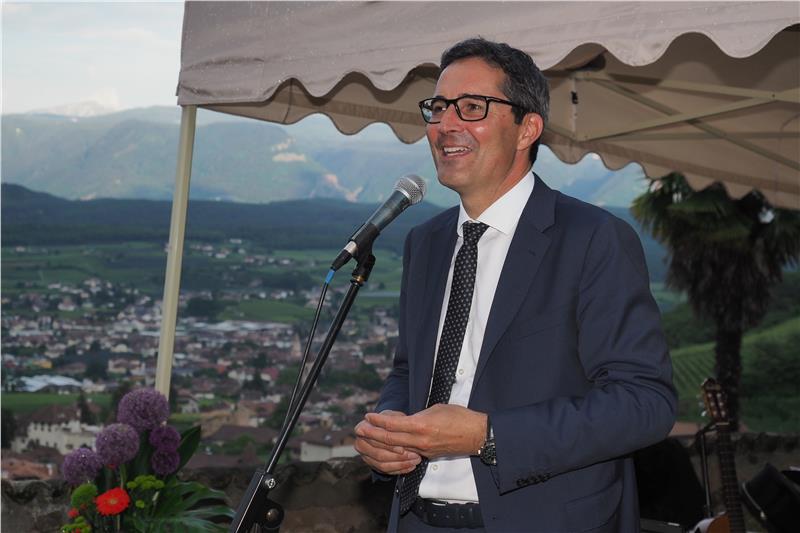 Il presidente Kompatscher al ricevimento per i media germanici: «Alto Adige terra di sport e di sportivi»
