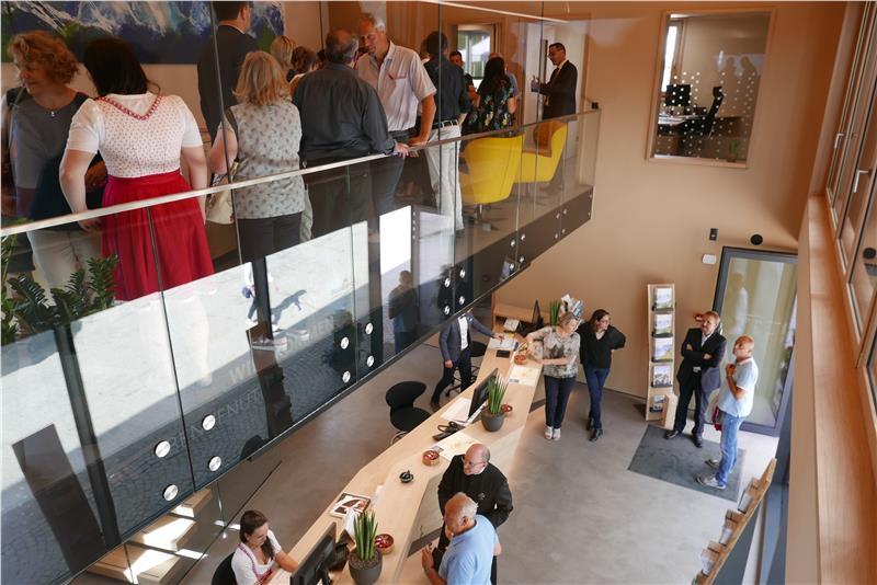 Efficiente e sostenibile, la nuova sede dell'associazione turistica della Val Passiria
