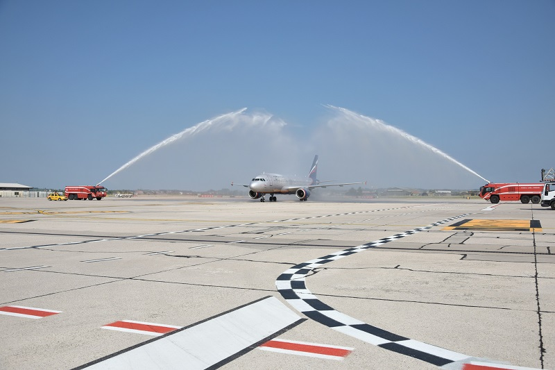 1. Apt Verona Volo inaugurale Aeroflot 01.07.2018 (1)