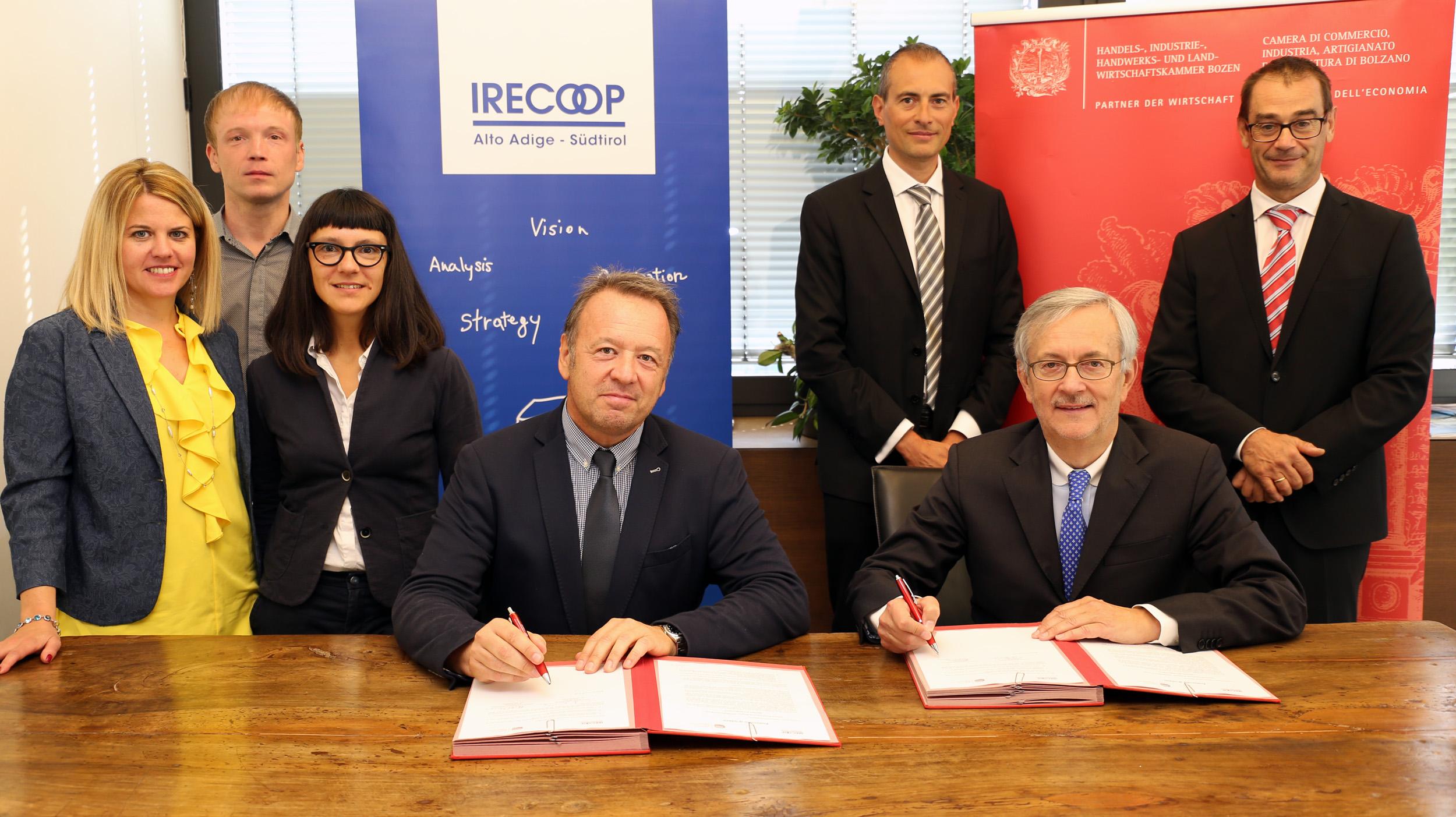 Accordo IRECOOP-Camera di commercio (c) hk
