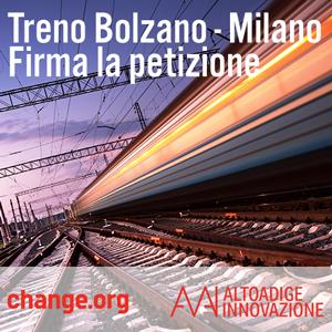 petizione treno bolzano milano