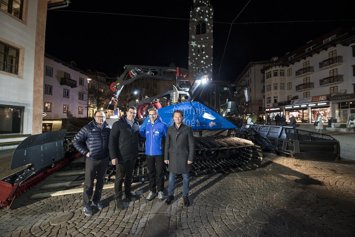 Presentazione ufficiale della partnership tra il Gruppo Leitner e Cortina 2021