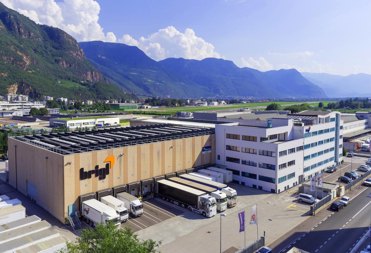 Brigl - La sede a Bolzano