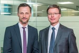 Da sinistra: Christian Fischnaller, Direttore commerciale e Michael Meyer, AD di Hypo Vorarlberg Leasing S.P.A.