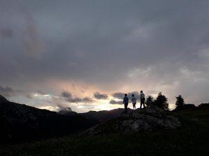 Montagna_tramonto