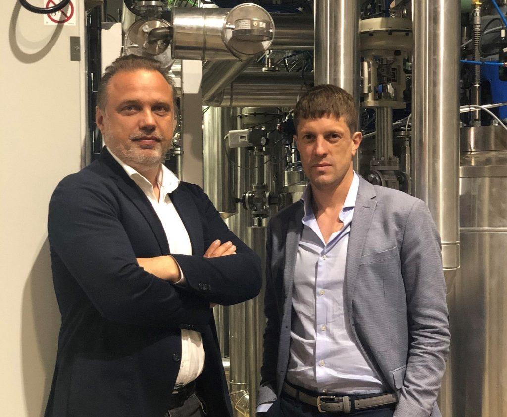 I fondatori di HBI Renato Pavanetto e Daniele Basso